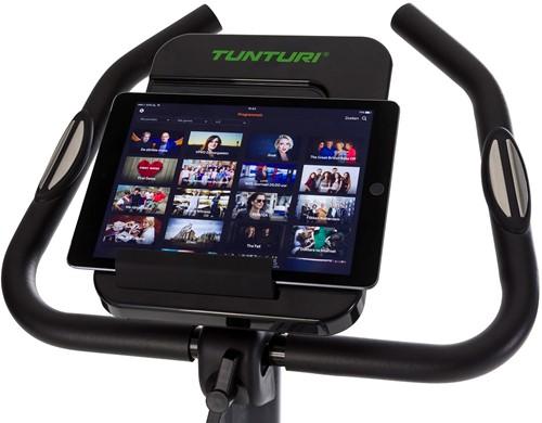 Tunturi Cardio Fit E30 ergometer hometrainer tablet