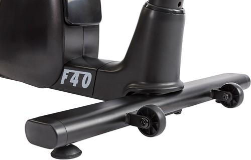Tunturi Competence F40 Hometrainer transportwielen