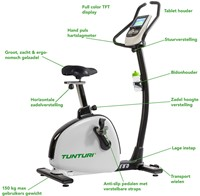 Tunturi Endurance E80 Hometrainer overview