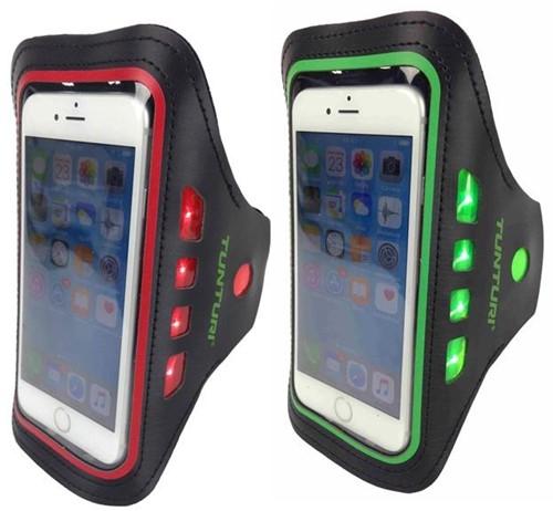 Tunturi LED Telefoon Sport Armband