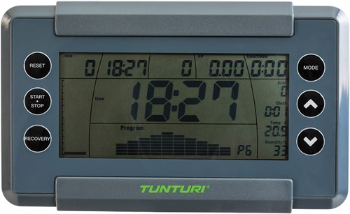 Tunturi Performance R50 roeitrainer display