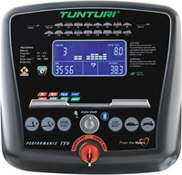 Tunturi Performance T50 Loopband display