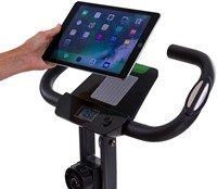 Tunturi cardio fit B25 x-bike folding bike tablet
