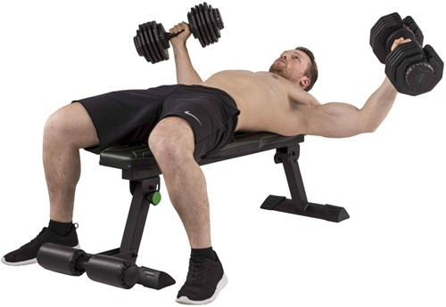 Tunturi fb80 flat bench trainingsbank 1
