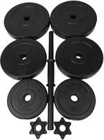 Tunturi Vinyl Dumbbellset 15 kg-2