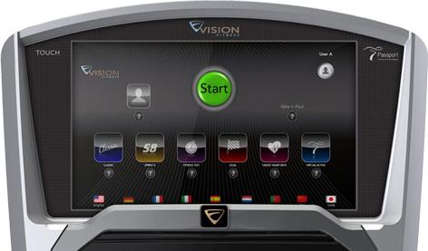 Vision Fitness U20 Touch Hometrainer - Gratis montage-2