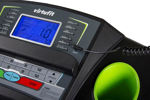 VirtuFit TR-100 loopband MP3 aansluiting