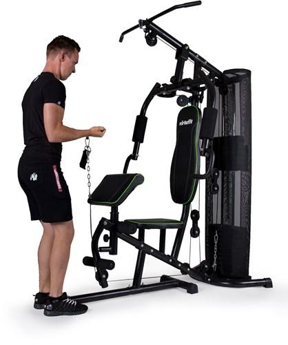 VirtuFit Krachtstation Homegym oefening biceps 1