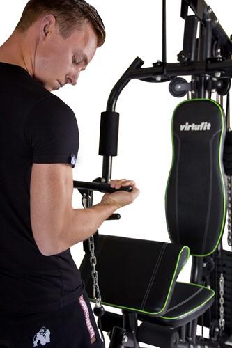 VirtuFit Krachtstation Homegym KH1 oefening biceps