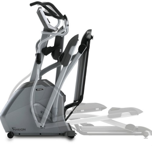 Vision Fitness XF40i Touch Crosstrainer - Gratis montage