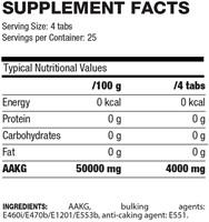 QNT - AAKG 4000 - 100 Tabletten-2