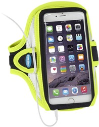 Tune Belt Arm Sportband AB91RY - Reflective Yellow