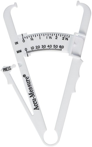 Accu-Measure Fitness 3000 Professionele Body Fat Caliper
