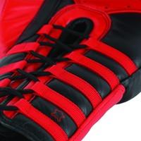 Adidas Safety Sparring Bokshandschoenen Veter Zwart-Rood-3