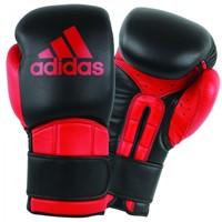 Adidas Safety Sparring Bokshandschoenen Velcro Zwart-Rood-1