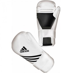 Adidas Semi Contact Gloves Wit
