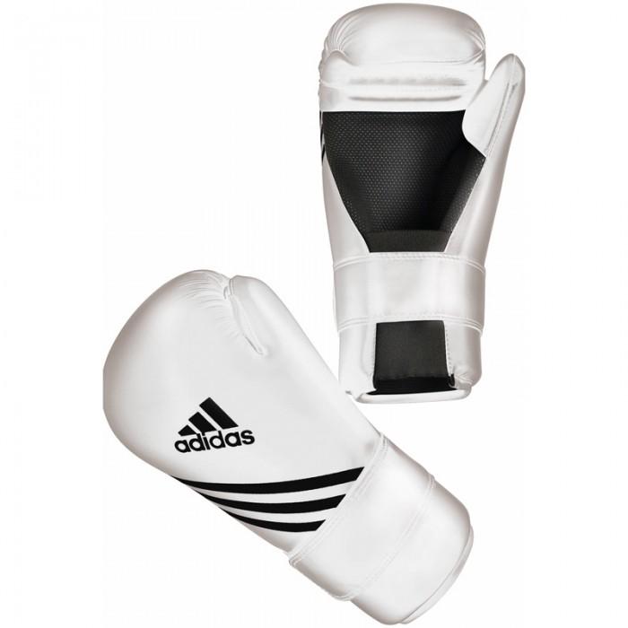 Adidas Semi Contact Handschoenen Wit
