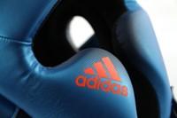 Adidas Speed Training Hoofdbeschermer Blauw-3