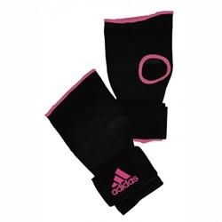 Adidas Gevoerde Binnenhandschoenen Met Bandage Zwart-Roze