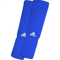 Adidas Elastische Scheenbeschermer - Blauw-1