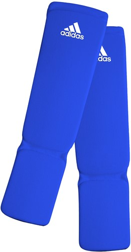 Adidas Elastische Scheenbeschermer - Blauw