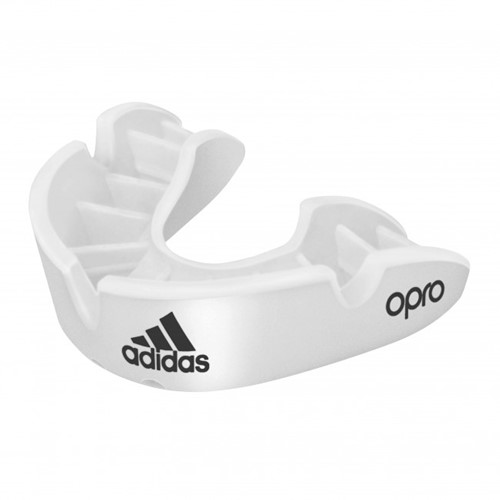 Adidas Gebitsbeschermer Opro Gen4 - Bronze Edition - Wit
