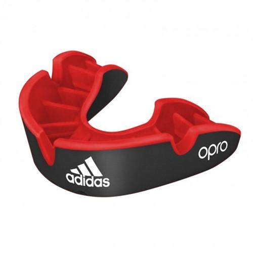 Adidas Gebitsbeschermer Opro Gen4 - Silver Edition - Rood/Zwart