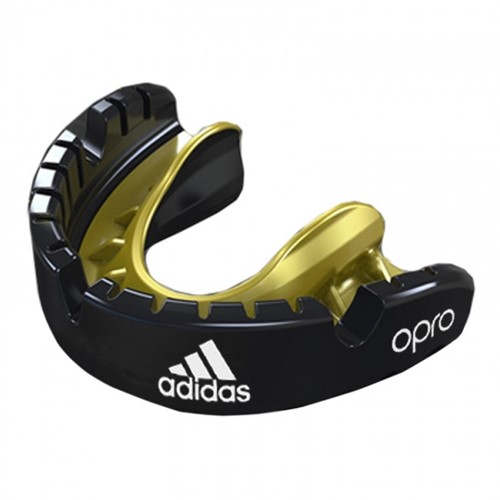 Adidas Gebitsbeschermer Opro Gen4 - Voor Beugel - Goud/Zwart