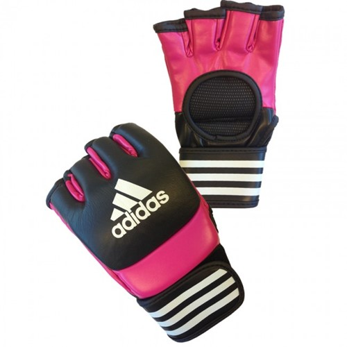 Adidas Ultimate MMA Handschoenen - Zwart/Roze