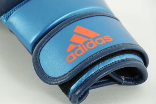 Adidas Training Grappling Handschoenen Blauw