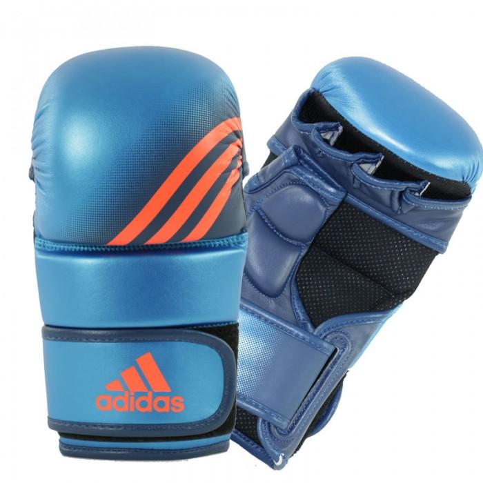 Adidas Speed Grappling Handschoenen Blauw