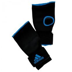 Adidas Gevoerde Binnenhandschoen Met Bandage - Zwart / Blauw