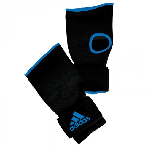 Adidas Gevoerde Binnenhandschoen Met Bandage - Zwart / Blauw - S