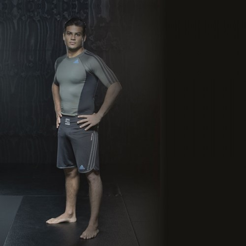 Adidas Grappling Short Beluga Zwart-2