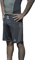 Adidas Grappling Short Beluga Zwart-1
