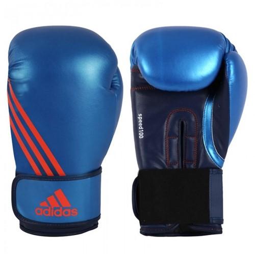 Adidas Speed 100 Bokshandschoenen Geel/blauw - 10 oz - Zonder originele verpakking
