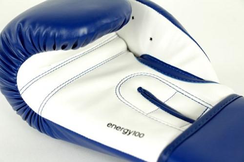 Adidas Energy 100 (Kick)Bokshandschoenen Blauw-Wit-2
