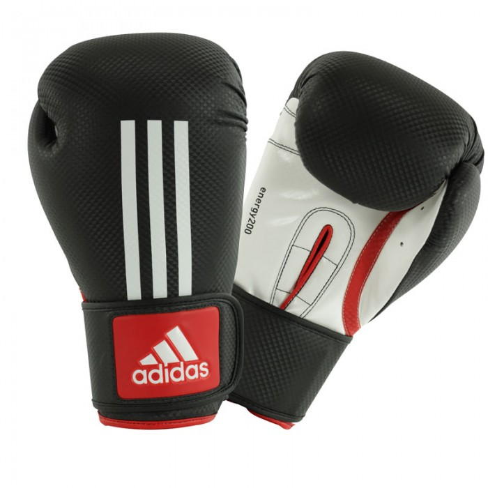 Adidas Energy 200 (Kick)Bokshandschoenen Rood-Wit_12 oz