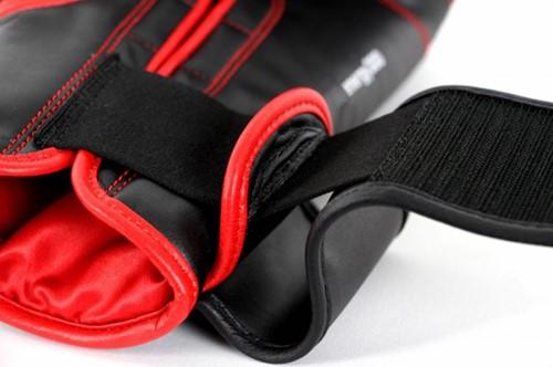 Adidas Energy 300 (Kick)Bokshandschoenen Zwart-Rood