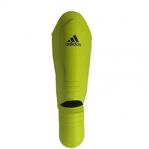 Adidas Hybrid Super Pro Scheenbeschermers - Geel/Blauw