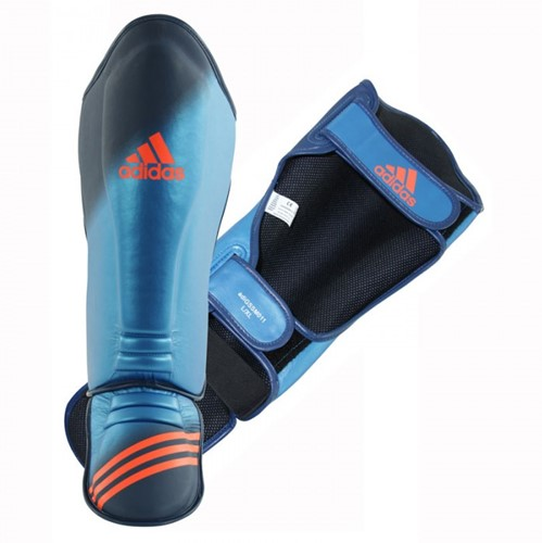 Adidas Speed Grappling Shin-n-Step - Scheenbeschermer - Blauw