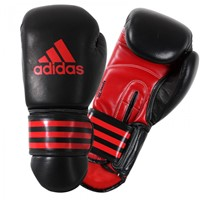 Adidas Power 300 (Thai)Bokshandschoenen Zwart-Rood-1