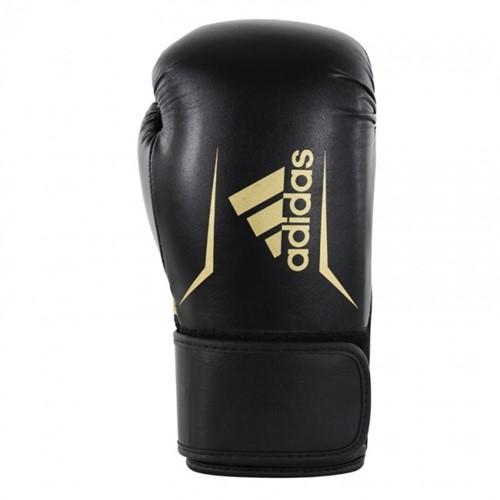 Adidas Speed 100 Bokshandschoenen Zwart/Goud