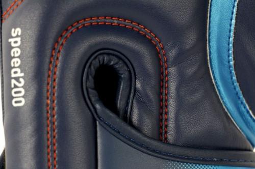 Adidas Speed 200 (Kick)Bokshandschoenen Blauw-3
