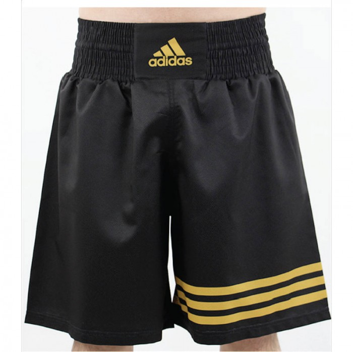 Adidas Multi (kick)Boxing Short Zwart Goud L