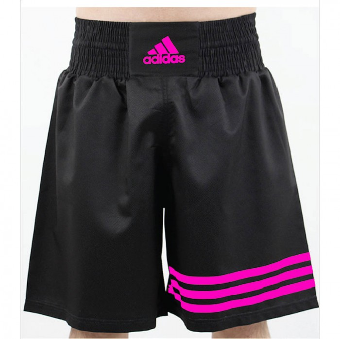 Adidas Multi (kick)Boxing Short Zwart Roze M