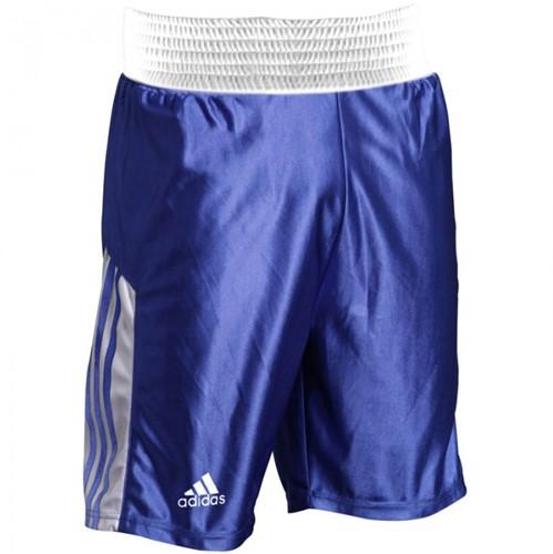 Adidas Amateur Boxing Short Blauw Wit