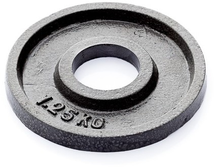 Gietijzer schijf 1.25kg (50 mm)