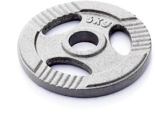 Muscle Power Gietijzeren Halterschijf - 50 mm - 5 kg