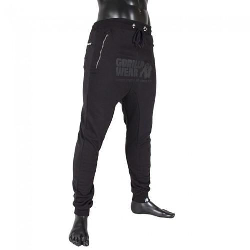 Gorilla Wear Alabama Drop Crotch Joggers - Black
